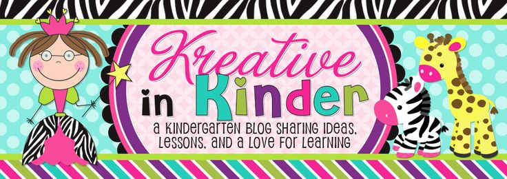 Cute Kindergarten blog with ideas for lessons & projects.