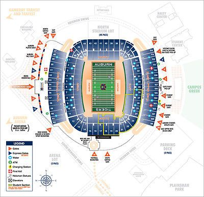 Marvelous Auburn Tigers Seating Chart