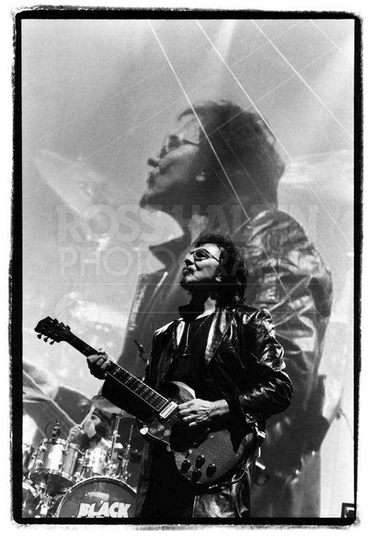 "Ross Halfin Photography on Facebook (21-Jul-2014): ""Tony Iommi at BST Hyde Park 2014."""
