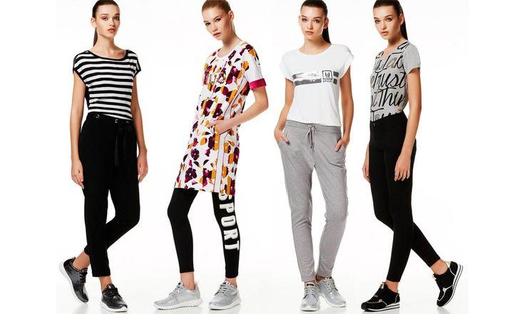 Liu Jo sport 2017: collezione moda sportiva - https://www.beautydea.it/liu-jo-sport/ - Una collezione sporty chic piena di glamour, come ci si aspetta da Liu Jo! L'abbigliamento sportivo 2017 del brand di Carpi coniuga comfort e fashion.