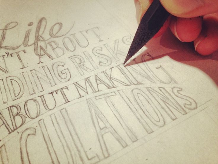 So you want to learn hand lettering?  ^ EXTREMELY helpful guide. If you're interested in learning how to write fancy (maybe you're an artist) a cool skill that would be fun to practice