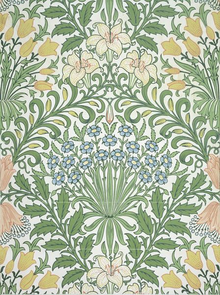 Garden wallpaper | Dearle, John Henry | V&A Search the Collections