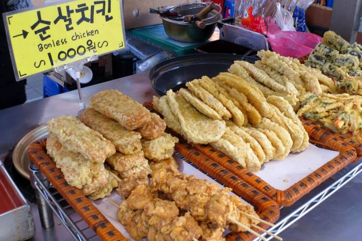 Street Food in Korea - Going Somewhere Slowly
