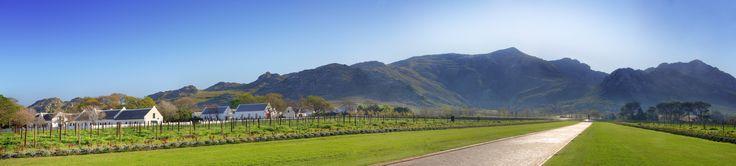 La Motte entrance with wine bearer. #lamotte #nature #franschhoek