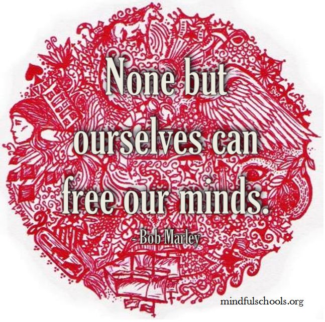 Noticing what is happening in our mind allows us to recognize our thought patterns and learn how to change them.
