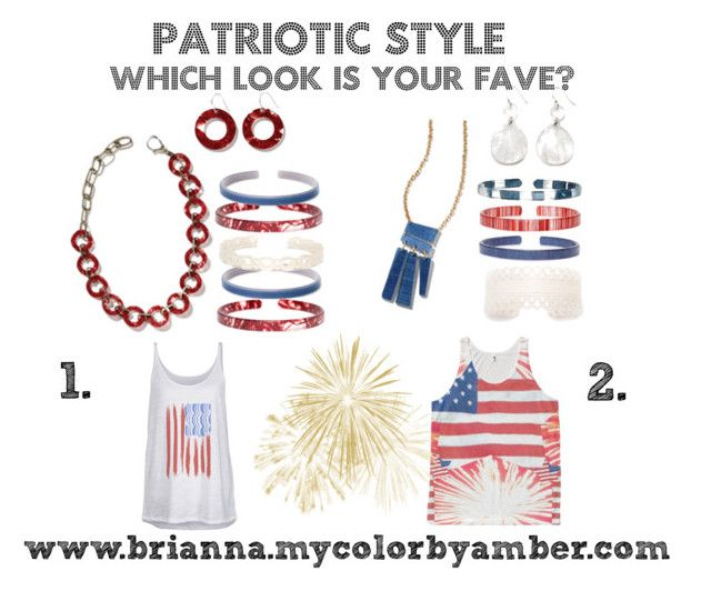 Patriotic Style CBA by brianna-holland on Polyvore featuring Feather 4 Arrow, 4thofjuly, opportunity, ecojewelry and cbastyle