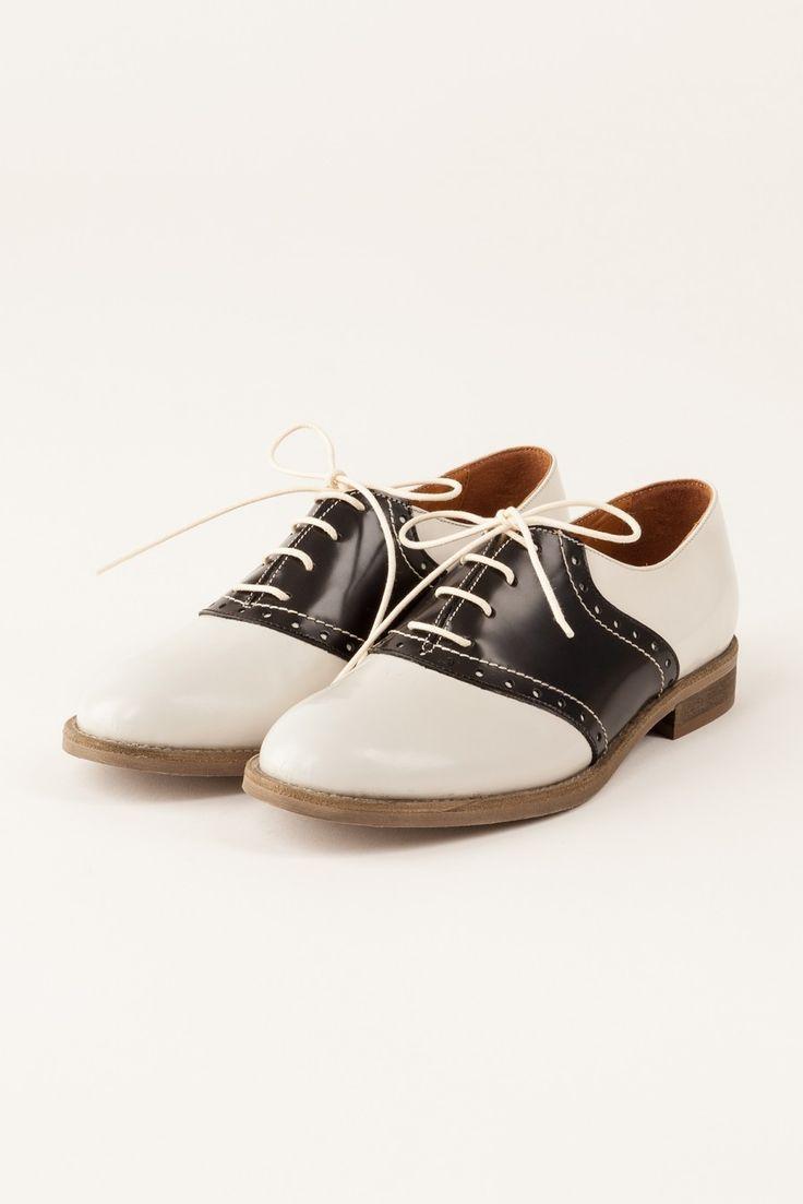 suzy saddle shoes
