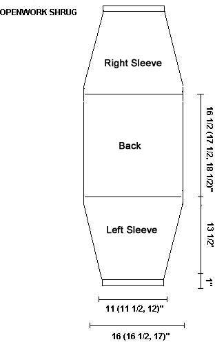Shrug Pattern