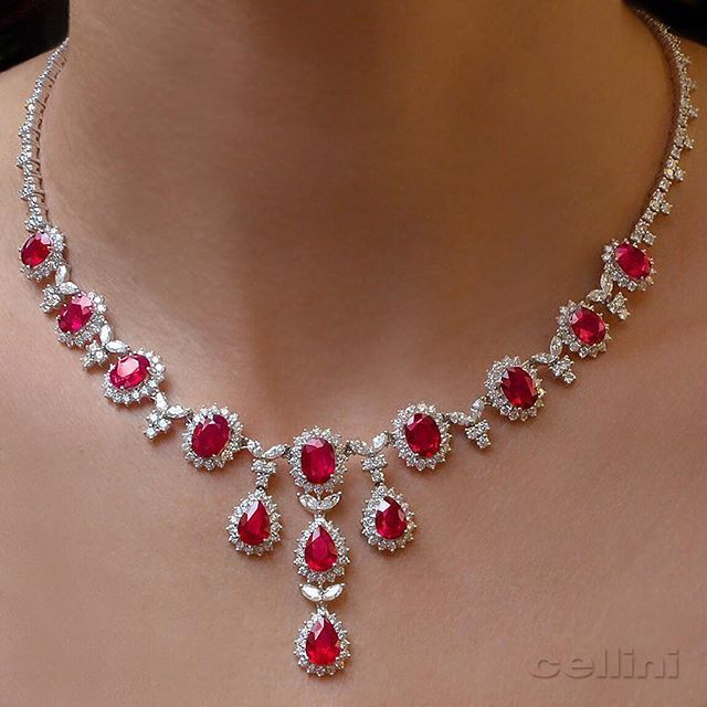 Pink Ruby Jewellery: 25+ Best Ideas About Ruby Necklace On Pinterest