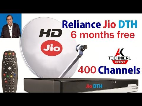 JIO DISH TV DHAMAKA | JIO DTH PLANS - PRICE - LAUNCH DATE AND SUBSCRIPTION - YouTube