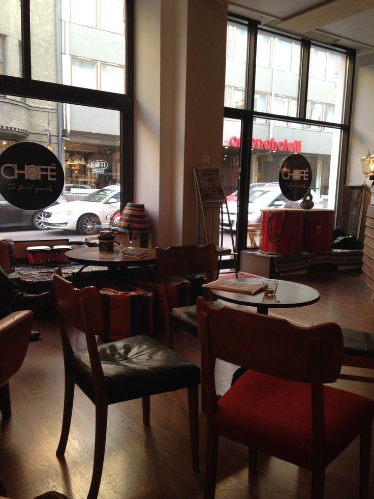 Inside Chofé
