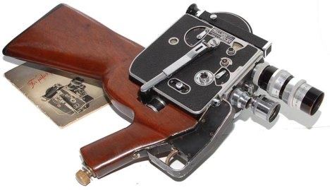 Bolex Camera Gun