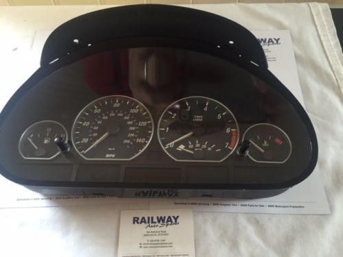 Oem bmw 3 series e46 2001 330ci convertible #manual dash #clocks #6911316 #68 *13,  View more on the LINK: http://www.zeppy.io/product/gb/2/151908458315/