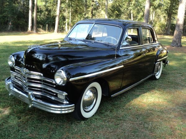 1949 plymouth special deluxe 4 dr sedan cars and trucks for 1949 plymouth 4 door sedan