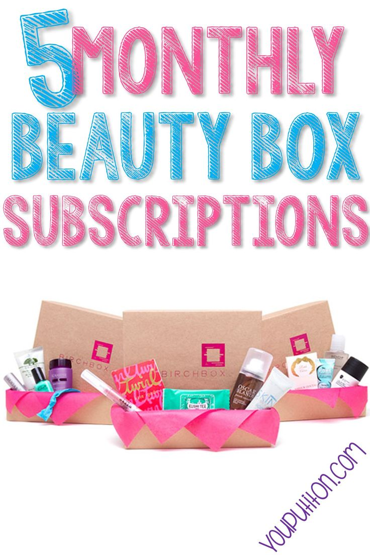 The 5 Best Monthly Beauty Box Subscriptions