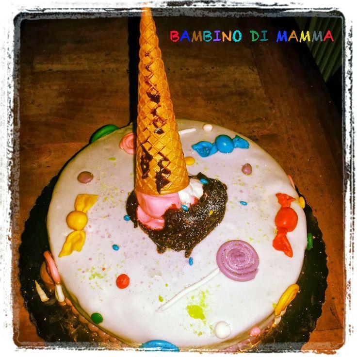 BAMBINO DI MAMMA: TORTA ALLEGRA