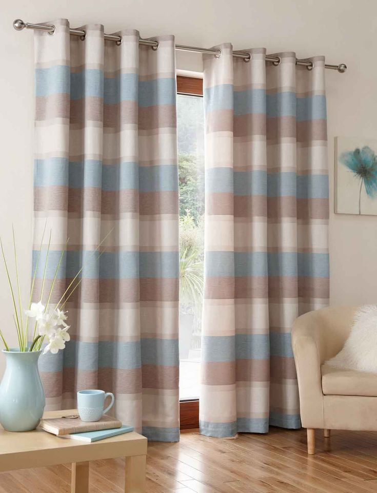 Marvellous blue brown bedroom design decobizzbrown curtains designs High Definition  and brown curtains designs label : brown curtains blue walls,Brown door curtains