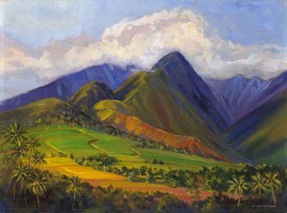 """Purple Haze"" by Janet Spreiter at Maui Hands"