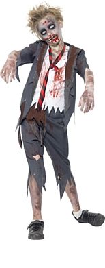 Child's Zombie School Boy Halloween Costume http://www.partypacks.co.uk/childs-zombie-school-boy-costume-pid98236.html