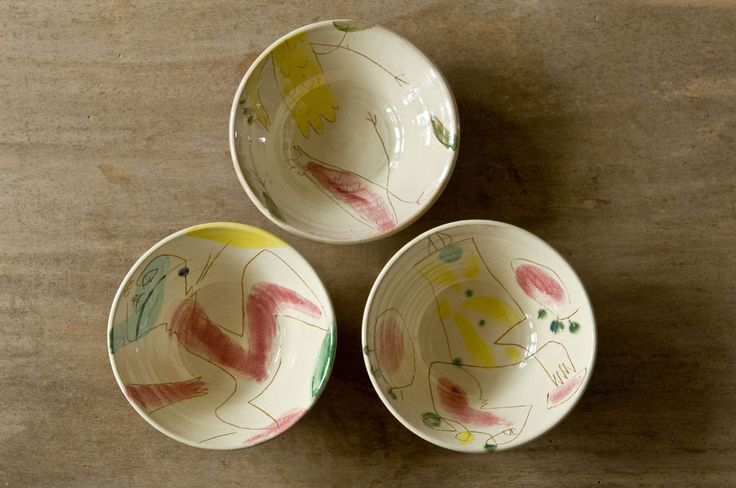 Terra Colorful Artisanal Surreal Bowls from Hans Fischer – DishesOnly