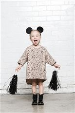 Terrazzo dress HUXBABY // Huxbaby is about minimalist fashions for kids with an adult level of style.  #baby #style