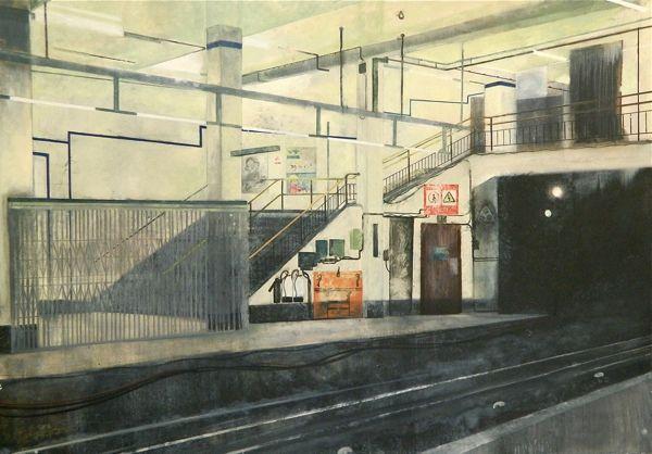 Aldgate East - Jock McFadyen