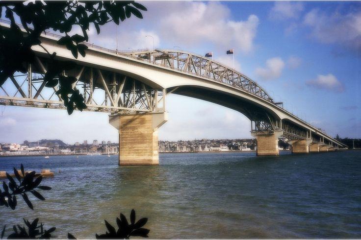 Sunday scenes from down under: Auckland Harbour Bridge