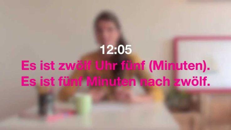 Němčina pro samouky mit Jitka 8: Hodiny - určování času