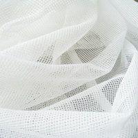 Bio-Baumwoll-Tüll weiß, GOTS-zertifiziert
