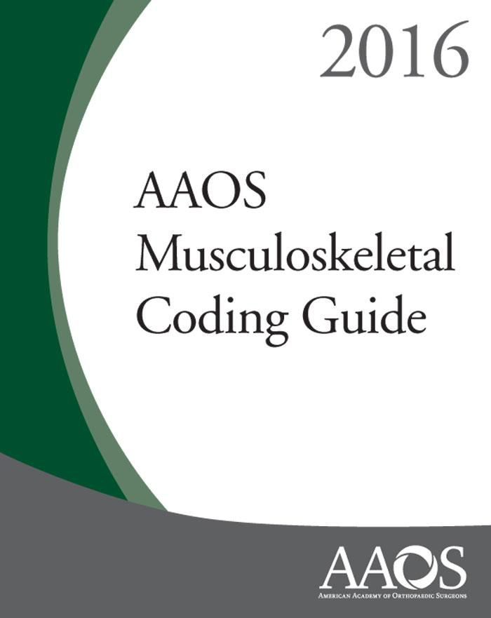 24 best icd 10 images on pinterest icd 10 coding and programming aaos musculoskeletal coding guide 2016 by american academ find this pin and more on icd 10 fandeluxe Gallery