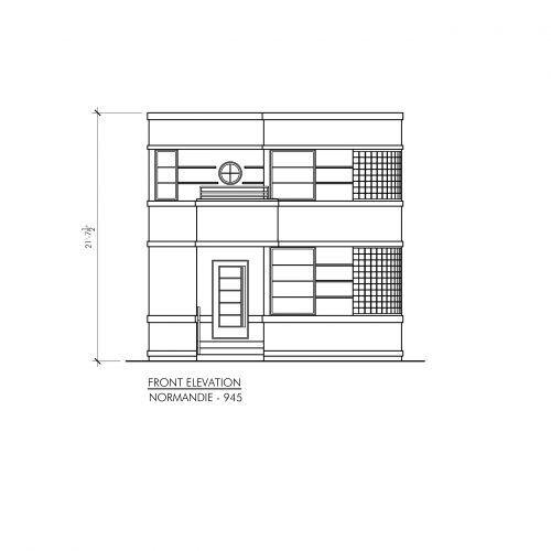 Contemporary Normandie 945 Plan Maison Moderne Petite Maison