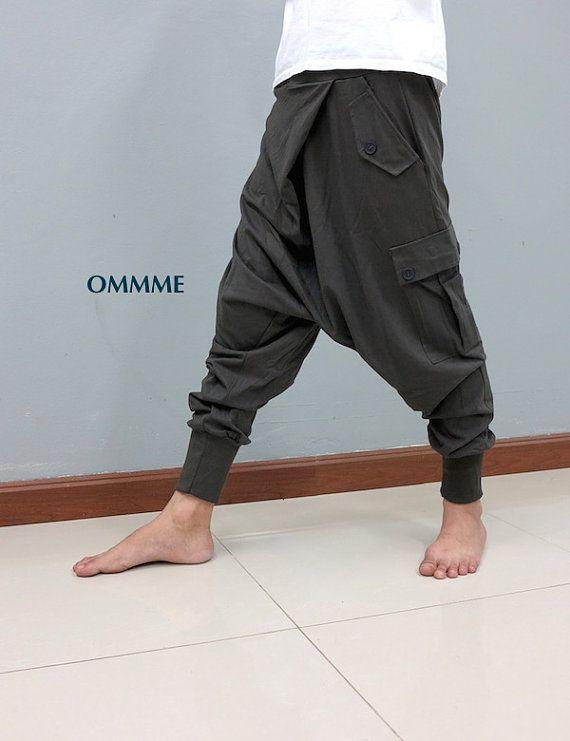 CANTAN los pantalones Harem 010 (gris)                                                                                                                                                                                 Más