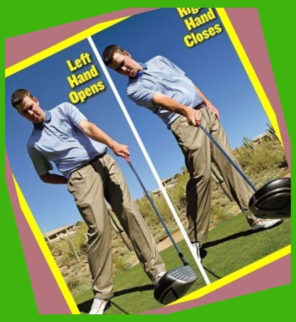 How To Fix Your Golf Swing Slice Right Hand Golf Grip Rule Golf Grip Left Hand How To G How To Fix Golf Swing In 2020