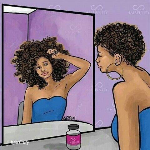 Du big chop au cheveux longs: Comment optimiser la pousse des cheveux Afros  en quelques gestes simples
