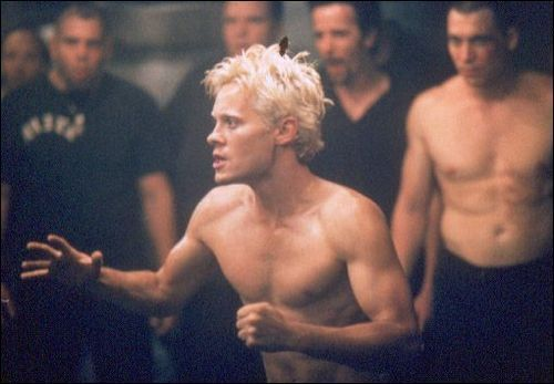 "Jared Leto in ""Fight Club"" (1999)."