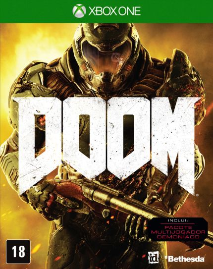 [SARAIVA] Jogo Doom - Xbox One - R$ 89,91