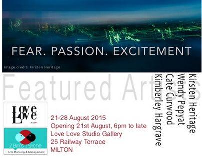 "Check out new work on my @Behance portfolio: ""Frenzy Exhibition - Love Love Studio - Brisbane"" http://on.be.net/1V9mZCn"