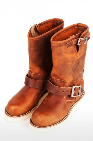 Red Wing Shoes schoenen Engineer 2971 Copper Rough 2971 Copper Rough » JeansandFashion.com