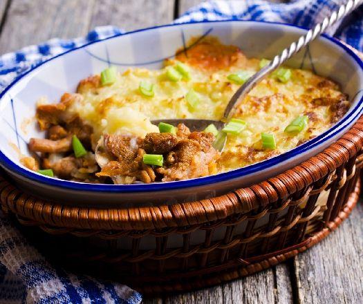 Krumplis-gombás rakottas Recept képpel - Mindmegette.hu - Receptek