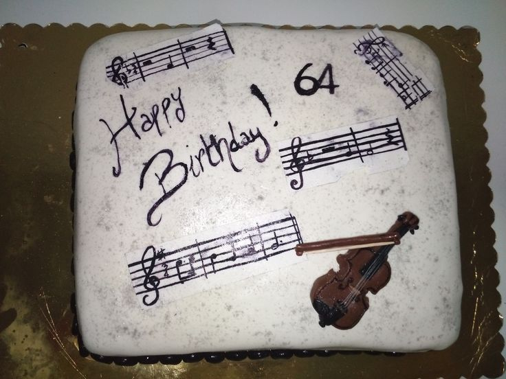 #cake #torta #music #musica #violino #violin #spartito #score #happybirthday #buoncompleanno