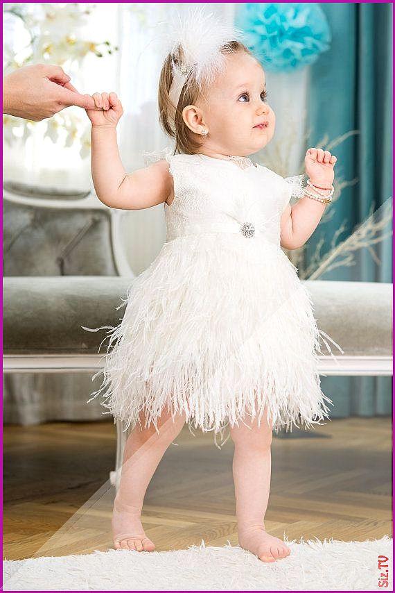 Perle - Federkleid für Mädchen für besondere Anlässe ...