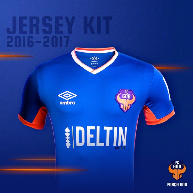 Camisas do FC Goa 2016-2017 Umbro