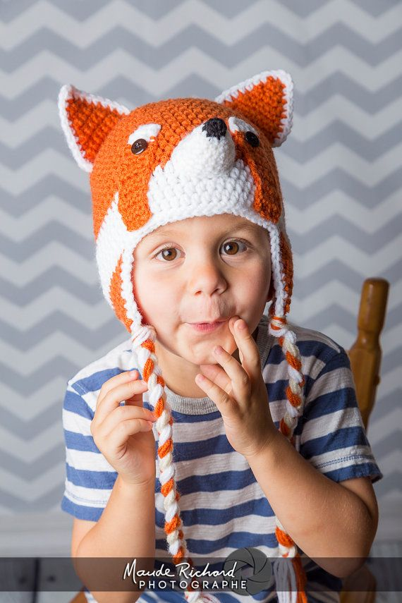 Retrouvez cet article dans ma boutique Etsy https://www.etsy.com/ca-fr/listing/246275799/tuque-de-panda-roux-bonnet-petit-panda