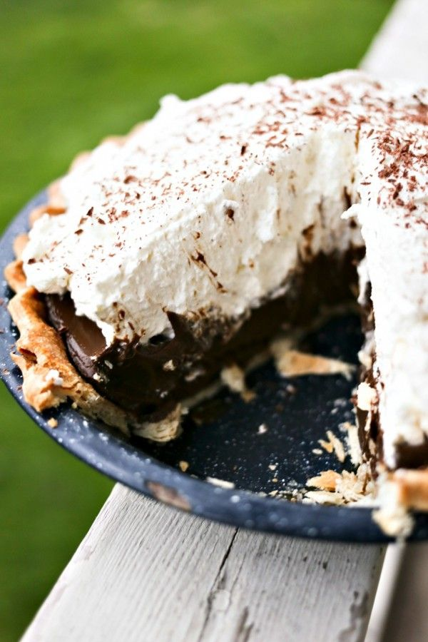When it comes to desserts, I'm a creamy, chocolatey devotee. If it's pudding-like (or ice cream like) I'm in. If it combines pudding or ice cream-ish qualities with chocolate? I am all over it. Such is the case with Kahlua Chocolate Cream Pie. I made this, ostensibly, for my husband's birthday last week. He wanted...Read More »