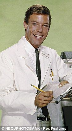 richard chamberlain as dr. kildare -back in the 60's he was our Dr. McDreamy....I didn't like Ben Casey!