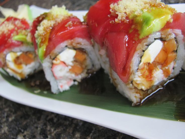 Fresh Roll (8pcs) Red Dragon Roll R70.00 Contact us at Long Fen Chinese Restaurant 044-690 5570