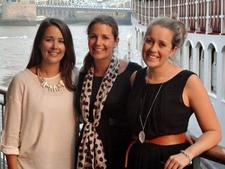 Caroline, Katherine and Emma Brown were in London to promote Brown Brothers wines.