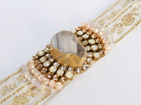 In love with this!  #boho #hippe #wedding #bracelet #bohemian   https://www.etsy.com/uk/listing/501586102/boho-wedding-bracelet-beige-cuff?ref=shop_home_active_2