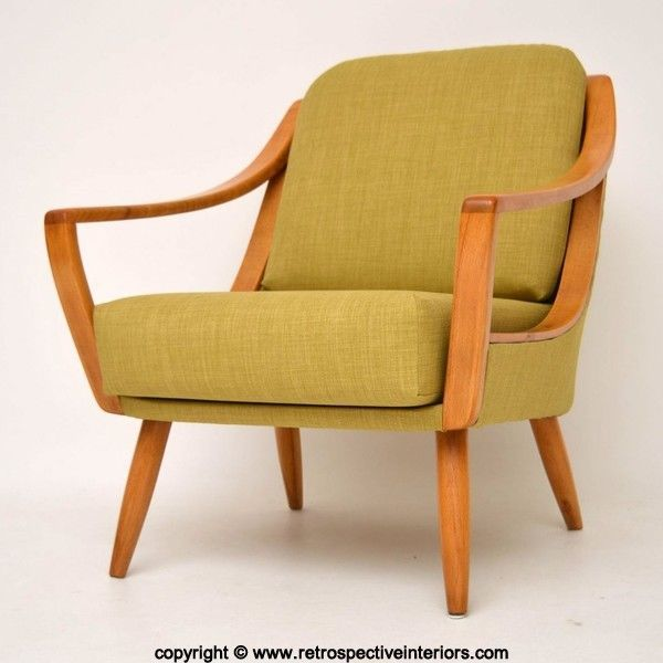 DANISH RETRO ARMCHAIR VINTAGE 1950u0027s In Antiques, Antique Furniture, Chairs  | EBay