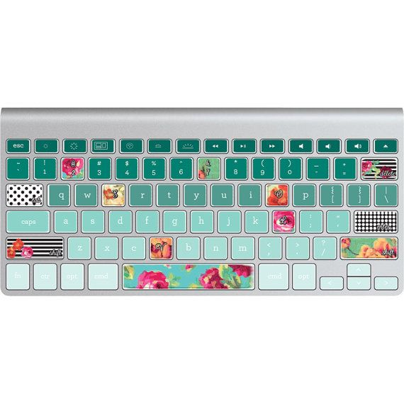 Hey, I found this really awesome Etsy listing at https://www.etsy.com/listing/184857603/mac-keyboard-stickers-love-roses-ombre